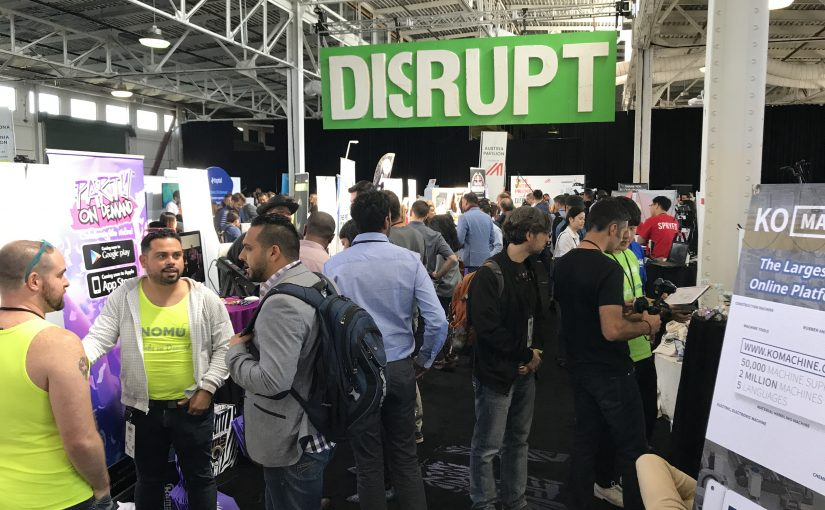 #264 Techcrunch Disrupt 2017 in San Francisco